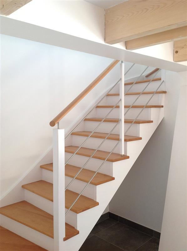 escalier bois cameo gamme classic escaliers bois bretagne smt escaliers bretagne. Black Bedroom Furniture Sets. Home Design Ideas
